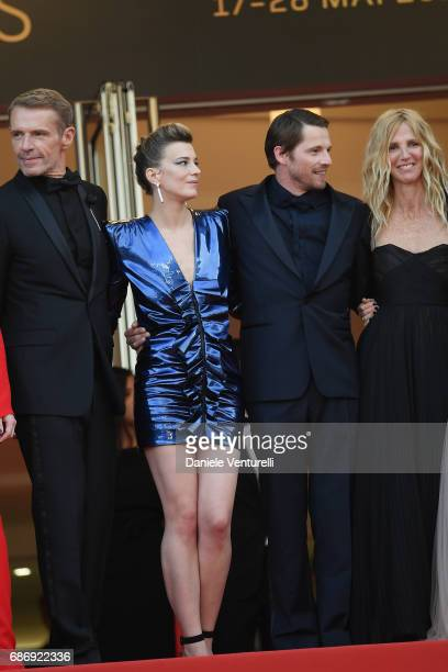 Lambert Wilson Celine Salette Pierre Deladonchamps and Sandrine Kiberlain attend the 'The Killing Of A Sacred Deer' screening during the 70th annual...