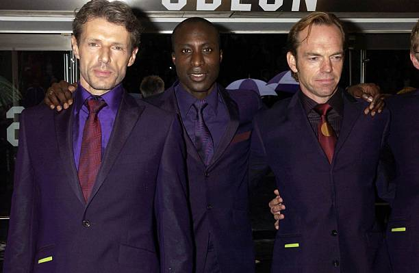the matrix reloaded premiere pictures getty images