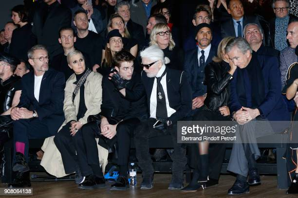 Lambert Wilson Stylist of Dior Woman Maria Grazia Chiuri Robert Pattinson Karl Lagerfeld Helene MercierArnault and her husband owner of LVMH Luxury...