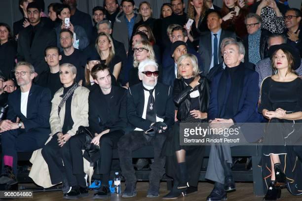 Lambert Wilson Stylist of Dior Woman Maria Grazia Chiuri Robert Pattinson Karl Lagerfeld Helene MercierArnault her husband owner of LVMH Luxury Group...