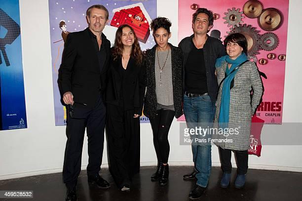 Lambert Wilson Virginie Ledoyen Marie Amachoukeli Jean Bernard Marlin and Pascale Faure attend the 'Courts Devant ' 10th Anniversary of Short Movies...