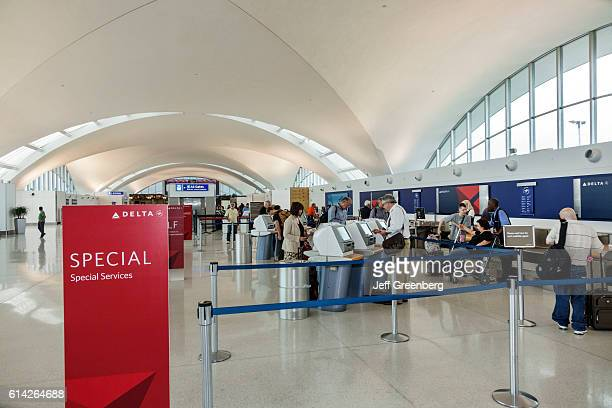 LambertSt Louis International Airport Delta Airlines selfservice kiosks
