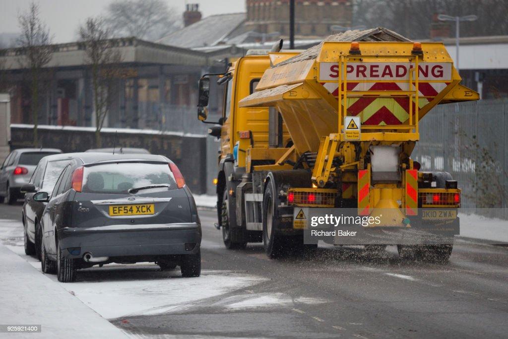 London Snow, UK : News Photo