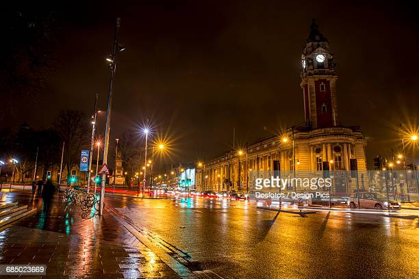 lambeth town hall, brixton, south london - brixton stock photos and pictures