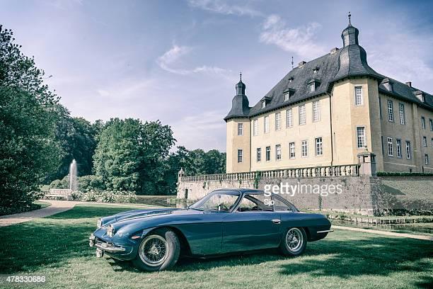 Lamborghini 350 GT classic Italian sports car