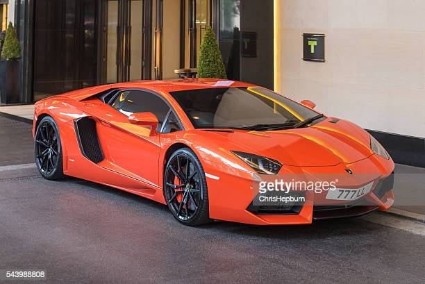 Lamborghini Aventador, Mayfair, London, England, UK