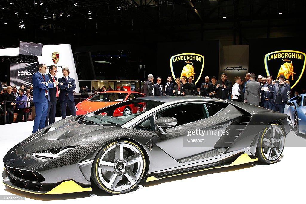 86th International Motor Show : Press Preview in Geneva : News Photo