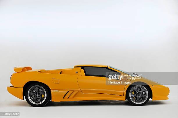 Lamborghini Diablo VT Roadster. Artist Unknown.