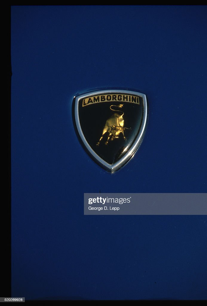 Lamborghini Emblem Stock Photo Getty Images