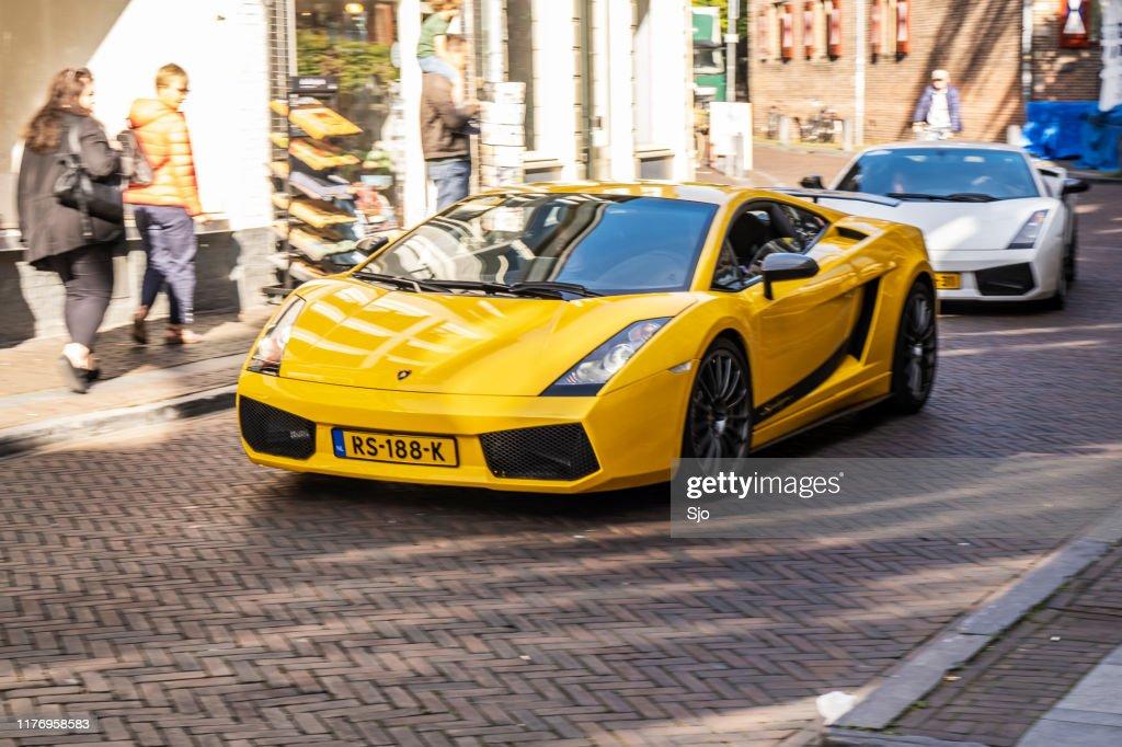 Lamborghini Gallardo Superleggera carro esportivo : Foto de stock