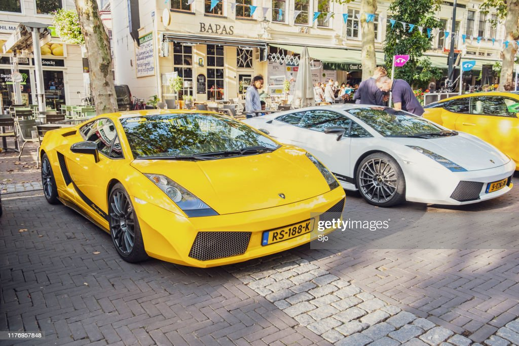 Lamborghini Gallardo Superleggera sports cars : Stock Photo
