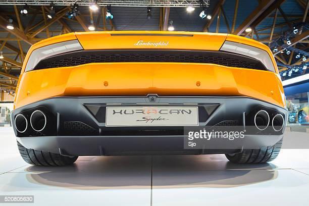 Lamborghini Huracán LP 610-4 Spyder carro desportivo