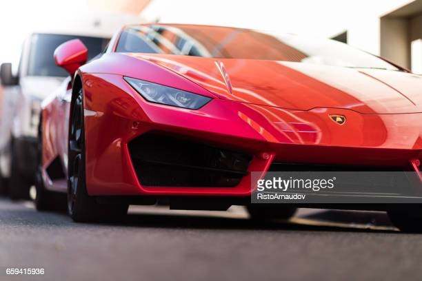 lamborghini huracan - ferrari stock pictures, royalty-free photos & images