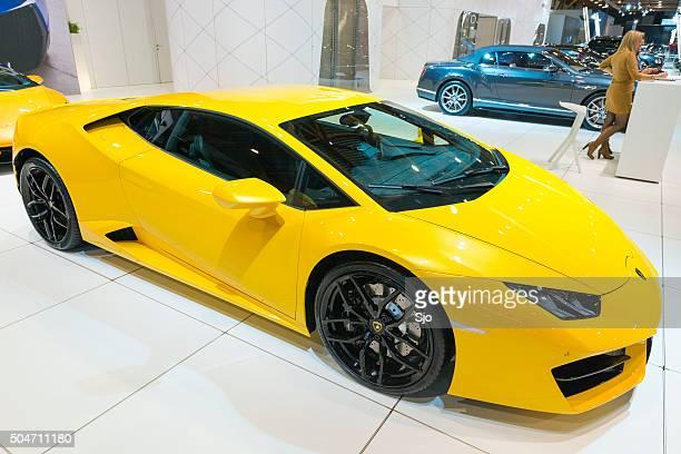 Lamborghini Huracan sports car front view