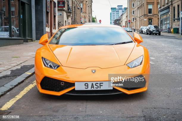 Lamborghini Huracan sports car front view