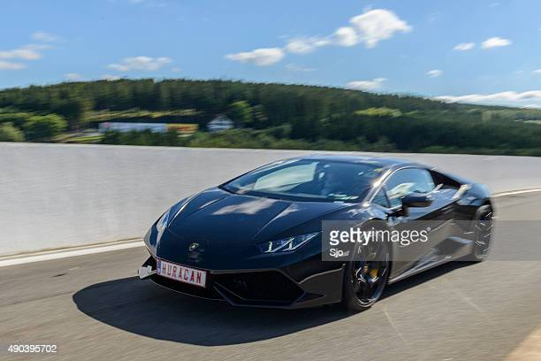 Lamborghini Huracan sports car