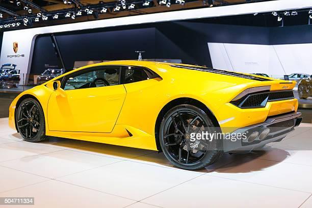 Lamborghini Huracán carro desportivo