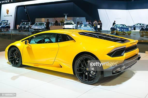 Lamborghini Huracán carro desportivo Vista Traseira