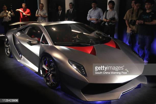 Lamborghini Sesto Elemento Stock Fotos Und Bilder
