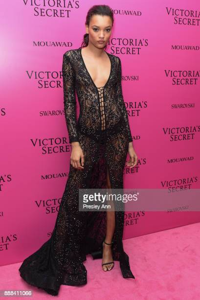 Lameka Fox attends 2017 Victoria's Secret Fashion Show In Shanghai After Party at MercedesBenz Arena on November 20 2017 in Shanghai China