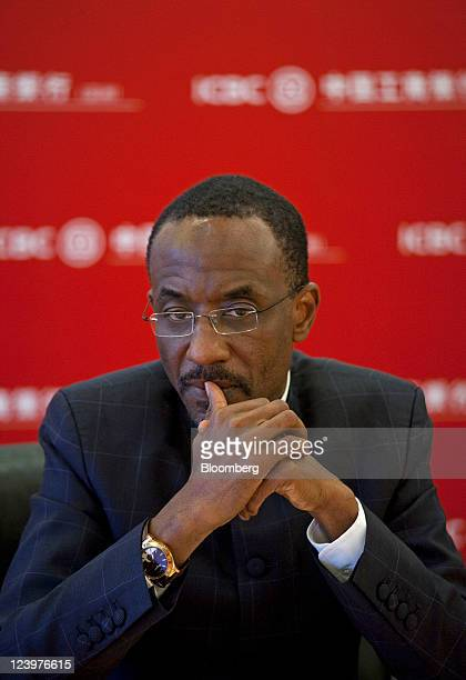 Lamido Sanusi governor of the Central Bank of Nigeria pauses during a news conference in Hong Kong China on Wednesday Sept 7 2011 Nigeria plans to...