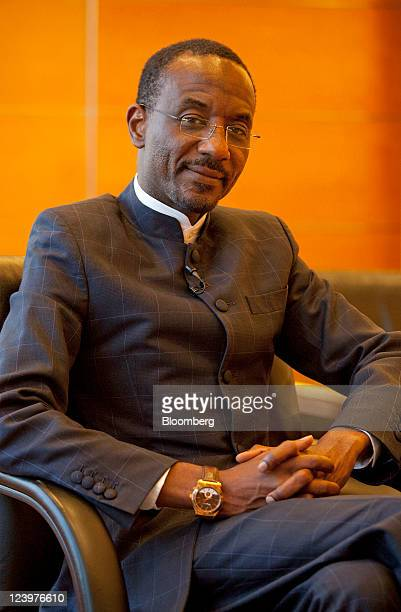 Lamido Sanusi governor of the Central Bank of Nigeria poses for a photograph in Hong Kong China on Wednesday Sept 7 2011 Nigeria plans to reach a...