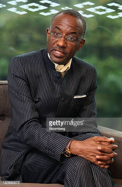 Lamido Sanusi governor of the Central Bank Of Nigeria speaks during an interview at the Islamic Financial Intelligence Summit in Kuala Lumpur...