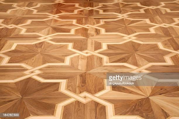 ラミネート階の質感 - 寄木張り ストックフォトと画像