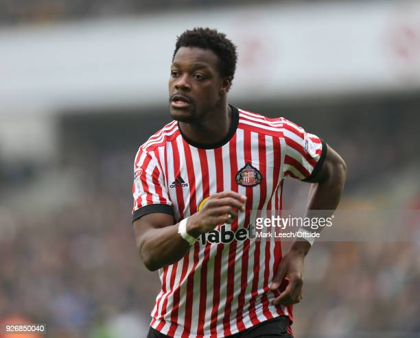 Lamine Kone of Sunderland during the Sky Bet Championship match between Millwall and Sunderland at The Den on March 3 2018 in London England