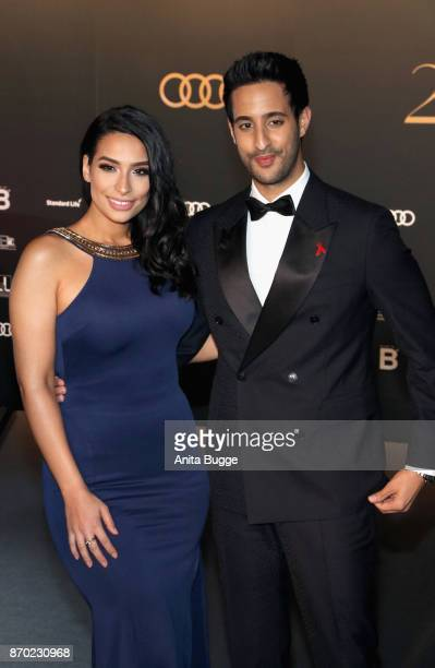 Lamiya Slimani and Sami Slimani attend the 24th Opera Gala at Deutsche Oper Berlin on November 4 2017 in Berlin Germany