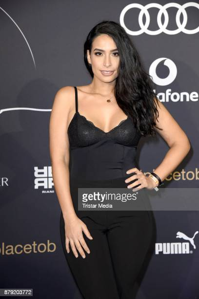 Lamiya Slimani attends the Place To B Influencer Award at Axel Springer Haus on November 25 2017 in Berlin Germany
