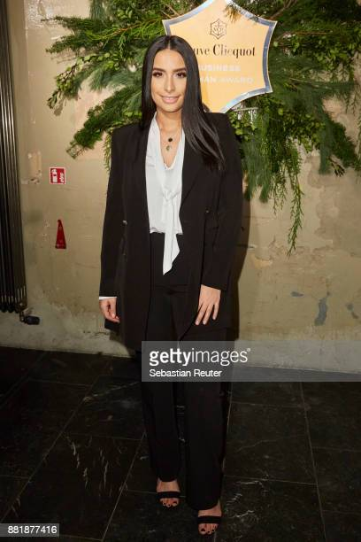 Lamiya Slimani attends the Veuve Clicquot Business Woman Award 2017 at The Grand on November 29 2017 in Berlin Berlin