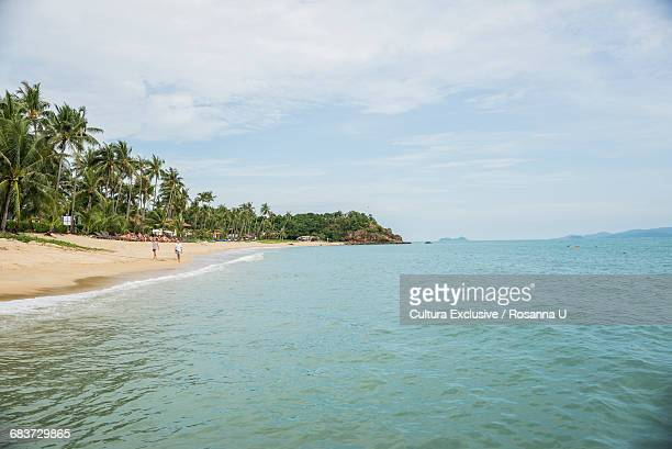 lammai beach, koh samui, thailand - ko samui stock photos and pictures