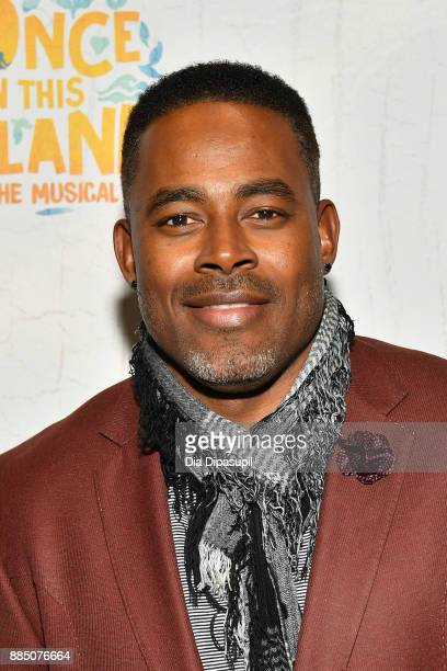 Lamman Rucker attends the 'Once On This Island' Broadway Opening Night at Circle in the Square Theatre on December 3 2017 in New York City