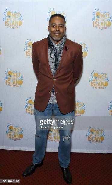 Lamman Rucker attneds 'Once On This Island' Broadway opening night at Circle in the Square Theatre on December 3 2017 in New York City