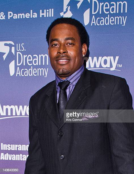 Lamman Rucker poses for photos during the 11th annual US Dream Academy Power of a Dream Gala at the Marriott Wardman Park Hotel on May 1 2012 in...