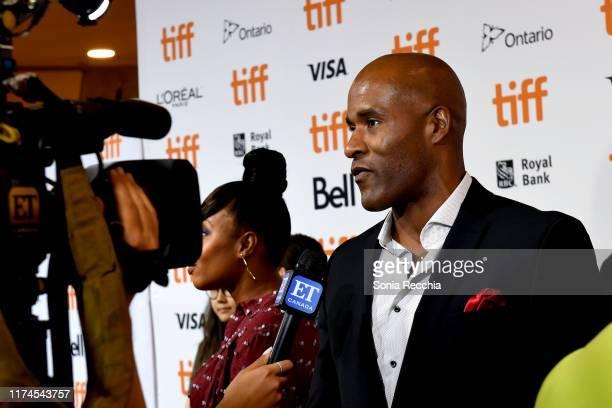 LaMonica Garrett attends the Clemency premiere during the 2019 Toronto International Film Festival at Roy Thomson Hall on September 13 2019 in...