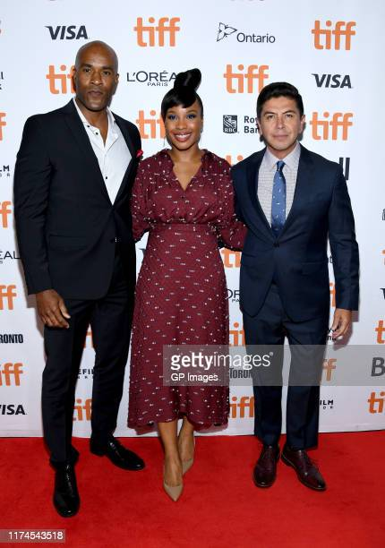 LaMonica Garrett Chinonye Chukwu and Alex Castillo attend the Clemency premiere during the 2019 Toronto International Film Festival at Roy Thomson...