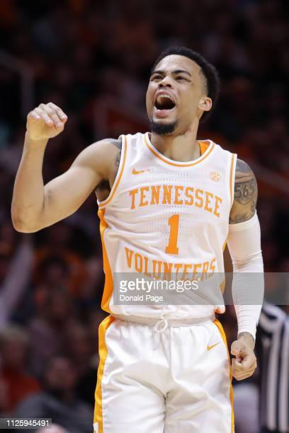 Lamonte Turner of the Tennessee Volunteers reacts to a play during the game between the Vanderbilt Commodores and the Tennessee Volunteers at...