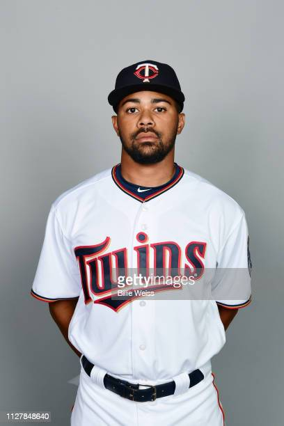 LaMonte Wade of the Minnesota Twins poses during Photo Day on Friday February 22 2019 at CenturyLink Sports Complex in Fort Myers Florida
