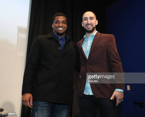 LaMontre Harvey and Nick Wright attend 'Magnify' Documentary Series Screening at The Whitby Screening Room on November 15 2017 in New York City