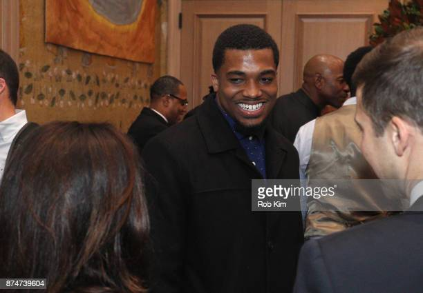 LaMontre Harvey attends 'Magnify' Documentary Series Screening at The Whitby Screening Room on November 15 2017 in New York City