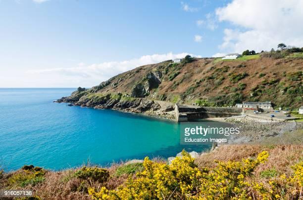 Lamorna Cove On The Penwith Peninsular In Cornwall England Britain Uk