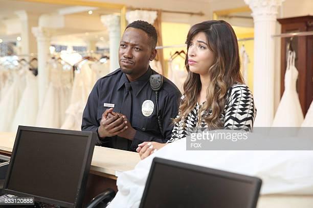 "Lamorne Morris and Hannah Simone in the ""Bob & Carol & Nick & Schmidt"" episode of NEW GIRL airing Tuesday, Feb 2 on FOX."
