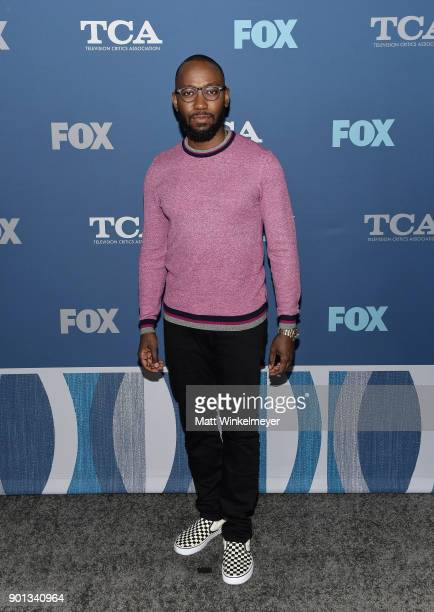 Lamorne Morris attends the FOX AllStar Party during the 2018 Winter TCA Tour at The Langham Huntington Pasadena on January 4 2018 in Pasadena...