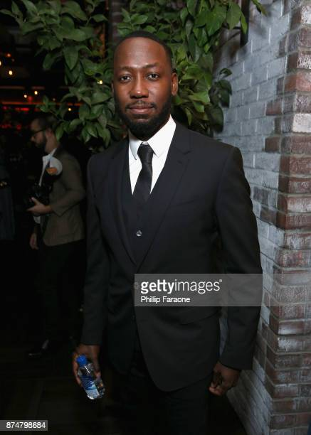 Lamorne Morris attends the HFPA's and InStyle's Celebration of the 2018 Golden Globe Awards Season and the Unveiling of the Golden Globe Ambassador...