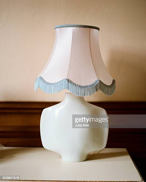 lamp on table - tassel stock pictures, royalty-free photos & images