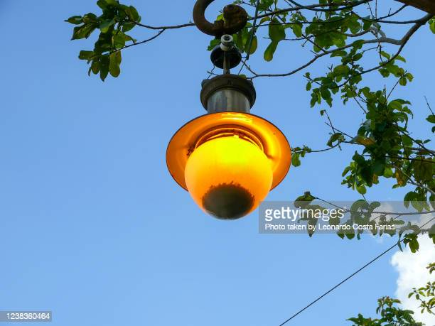 lamp post - leonardo costa farias stock pictures, royalty-free photos & images