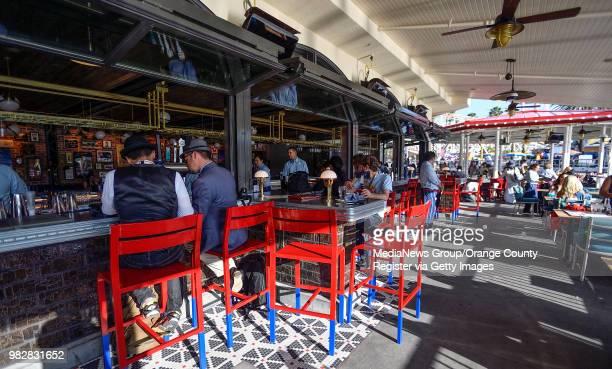 Lamplight Lounge at Pixar Pier in Disney California Adventure Park in Anaheim CA on Thursday June 21 2018