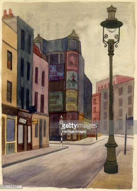 Lamppost 1951 Artist Shirley Markham